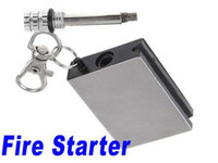 Wholesale New Hot Instant Survival Camping Emergency Fire Starter Flint Metal Match Lighter