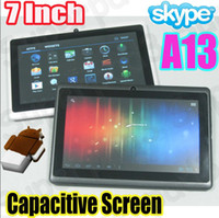 Wholesale Haipad V7P A13 Android Allwinner A13 G Inch Tablet PC Capacitive Screen GB M Camera Q88