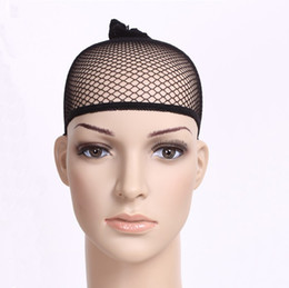 Wholesale 100 Black Fashion Hair Wig Weaving Elastic Cap Net Snood Mesh Fishnet Makeup Party