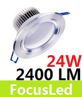 Wholesale High Power W Led Ceiling Down Light V Pure Warm White Led Recessed Downlight Lamp LM