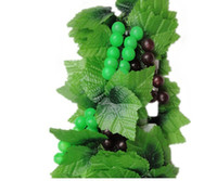 Wholesale The home decoration simulation vine grape leaf leaves hanging rattan fruit vine is hanged adorn