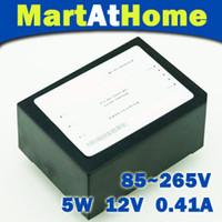 al por mayor dvd 5pcs-Convertidor AC-DC 220V 110V 85-265V del módulo de la fuente de alimentación de la conmutación 5PCS / lot 5W 400mA # BV093 @SD