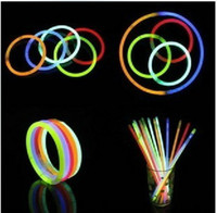 Wholesale EMS shipping Fluorescent bracelets glow stick light sticks LED toys Party Supplies Christmas supplie