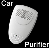 Wholesale New Auto Car Air Fresh Purifier Ionizer Oxygen Bar Humanity Design DC V W