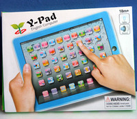 Boys kids toys - kids computer learning toys table y pad educational toys for children with light