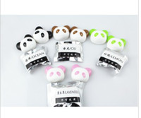 Gel air freshener for car - 10PR NEW Panda Car Air Freshener For Car Outlet Febreze