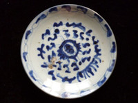 Wholesale Ancient Chinese porcelain plates Blue and white porcelain A305