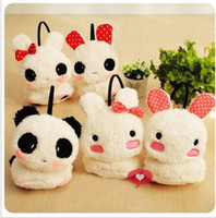 Wholesale new winter plush cartoon warm earmuff earcap Rabbit ear cover