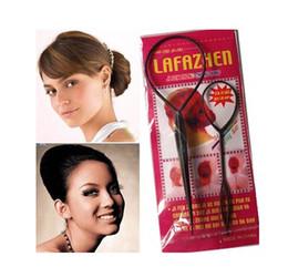 100 Pairs Hair Bun Clip Maker Former Foam Twist Hair 100X Large + 100X Small In Retail Package