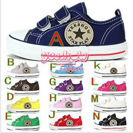 Wholesale Selling children s canvas shoes sports shoes boys and girls to sports shoes