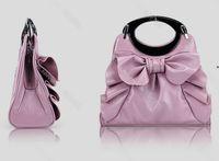Red flower handbags - 2012 new bowknot handbags women shoulder bag flower handbags evening bag mix bags CM