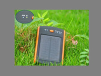 battary charger - 10pcs Slicon solar charger with Two USB port solar battary Charger mAh power bank power station