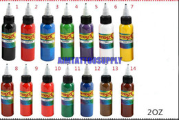 Wholesale Tattoo ink Colours OZ high quality