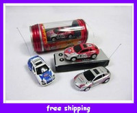 Wholesale Cute Mini rc car Micro Racing Remote Control Cars Toy Sports Charging Cola Coke Children Christmas gifts
