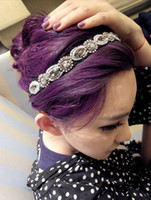 Wholesale New Coming Crystal Rhinestone Beads Flower Bracelet Necklace Headband women s jewelry