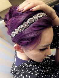 Wholesale New Coming Crystal Rhinestone Beads Flower Bracelet Necklace Headband women s jewelry