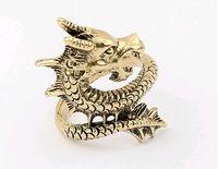 Women Rings Dragon Ring Restore Ancient Ways Coppery 24pcs L...