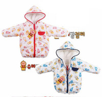 Boys and Girls  2T-5T 90-120 Baby Childrens Toddlers Cotton Coat Kids Winter Clothes Boys & Girls Outerwear Cotton Wadded Jacket