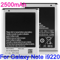 Wholesale 2500mAh EB615268VU Li ion Battery Replacement For Samsung Galaxy Note I9220 I9250 N7000 I889 I9228