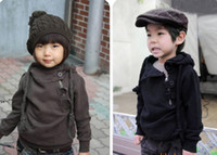 Wholesale boy s girl s hoodies suit outfit children s clothes zipper personalized sweater asdy