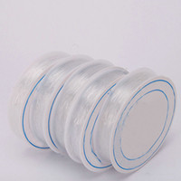 Wholesale US Seller Beading Cord Wire Rubber New Roll White Elastic Sets S8008