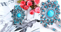 Women Bracelet Bracelet Joint Ring Restore Ancient Ways Blue...