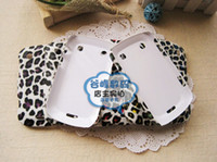 Wholesale 30pcs Rubber Leopard Leather Hard Back Case Cover for Blackbarry Bold