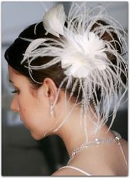 Wholesale Beauty Design Feather Clip Headwear