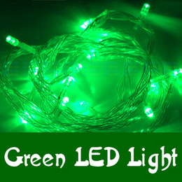 Green 10M 100LED LED String Lights flash light Christmas party Fairy wedding lamps Twinkle light