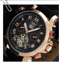 Wholesale 2012 jaragar men luxury automatic double calendar dive mens mechanical watches hot top replica