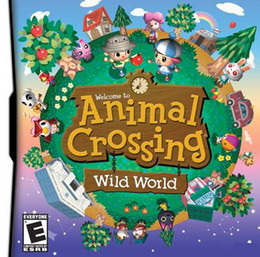 Wholesale Hot Sale Games Animal Crossing Wild World with retail package US or EU Version do drop ship