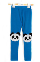 Wholesale Bby girl leggings Baby girl tights Cute panda style leggings Cute Girl PP pants Fashion tights