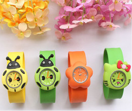 Wholesale Children Candy Bracelet Watch - Drop Shipping Cheap Colored Jelly Silicone Candy Watch Bracelet Wristwatch For Children