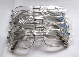 Cheap Reading Glasses Metal Frame Reading Eyewear Long-sighted Eyeglasses Silver And Gold Frame Color 50pcs lot 8801