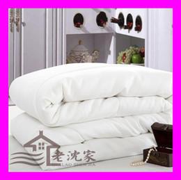 Wholesale Handmade Winter Silk Blanket comforter silk filling cotton cover KG different sizes duvet