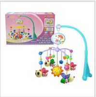 Wholesale hot sale bee bed bell bed hang baby toys music song MOQ