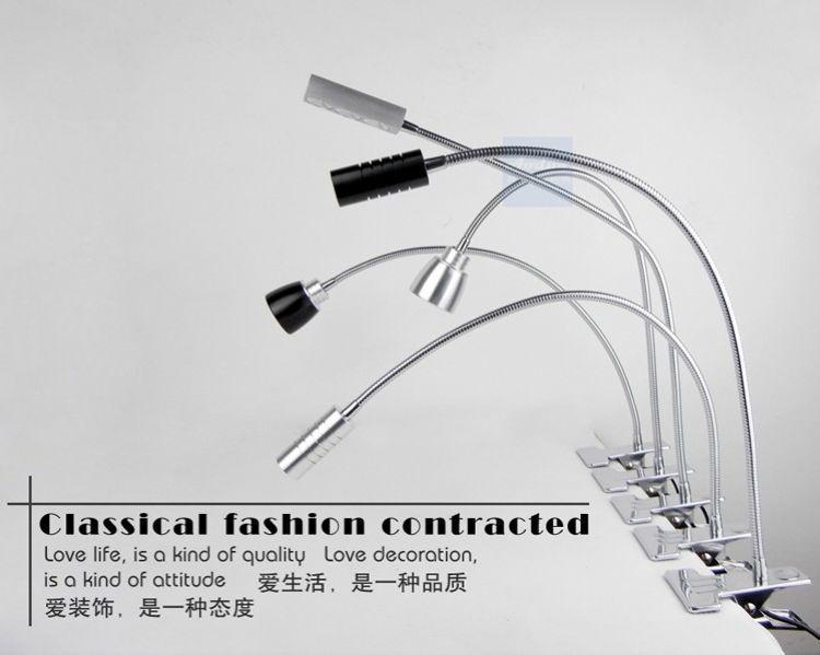 Modern Minimalist All-metal LED Eye Clip Lamp Super Bright Work ...
