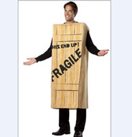 Costum Made wooden crates - 2012 new Fragile Wooden Crate advertising mascot costume Custom Made
