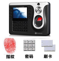 Wholesale Latest Model Fingerprint Time attendance with Camara Linux OS TFT TcpIp Time Recorder DHLorEMS free