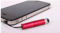 Wholesale colourful touch pen for iphone ipod ipod