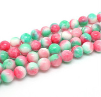 Wholesale 39pcs Natural color jade beads MM Phoenix Jade jewelry beads fit charm bracelets necklace
