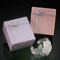 Wholesale Hot Sale Romantic Lovely Cardboard Boxes Gift Boxes Chic Bracelets Boxes Favor Jewelry Boxes