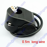 Wholesale 10A w Resettable Fuse Motorcycle Waterproof V Cigarette Lighter Socket