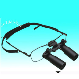Wholesale Operating magnifier GM4X Loupe Glasses type Magnifier X Magnifying Medicinal Dental Surgical Binocular Loupes Sample