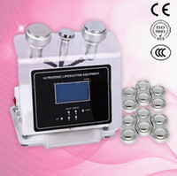 Wholesale Portable RF BIO Skin Firming Cavitation Cellulite Removal Ultrasonic Liposuction Cavitation Machine