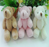 Wholesale Teddy Bear Plush Toys Joint Bear Plush Joint Bear Pendant Cartoon Bouquet Doll Wedding Gift