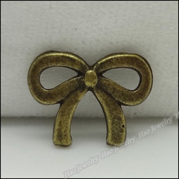 Fashion Tie Charms Pendants Antique bronze zinc alloy Necklace Pendant Jewelry Craft 1500pcs lot