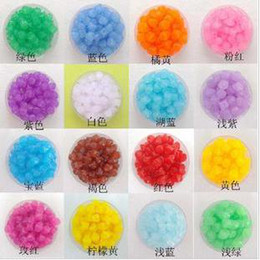 Wholesale The the jelly beads four corners Zhuzhu sub MM Acrylic Beads DIY material