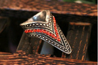 Women Rings Coppery Red Gums Ring Restore Ancient Ways Low P...