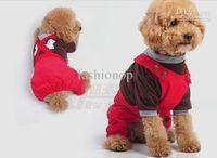 Wholesale Hot Sale Dog Apperal Puppy Denim Pants Suspender Trousers NPT1